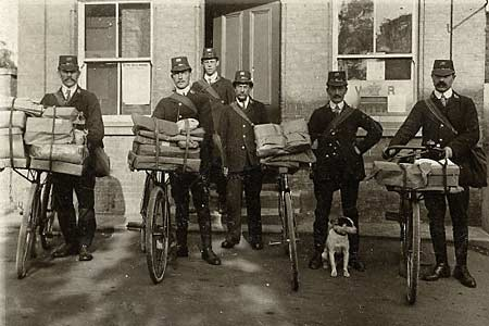 cycling-postmen